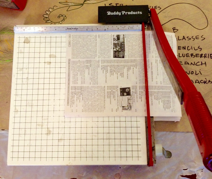 recycling bin origamipaper
